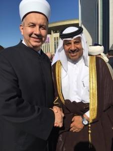 Mufti_katarski_veleposlanik