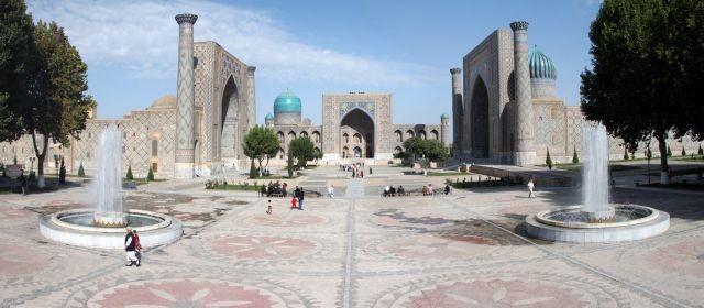 Registan_Samarkand_Uzbekistan