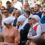 Slovenija,Ljubljana,11.07.2019, 11.Julij 2019,  Ljudje so se poklonili zrtvam genocida v Srebrenici z minuto molka, druzba, dogodek, srebrenica, Foto: Borut Zivulovic /BOBO