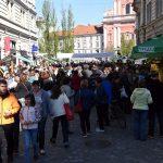 Slovenija, Ljubljana, 08.04.2017, 08. april 2017 Festival Bosanske hrane, dogodek, hrana, BiH, baklava, kava,  Foto:Borut Zivulovic/Bobo